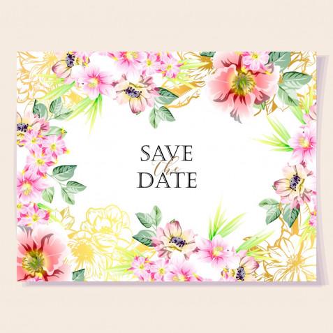 Biglietti di auguri con fiori: i design più belli