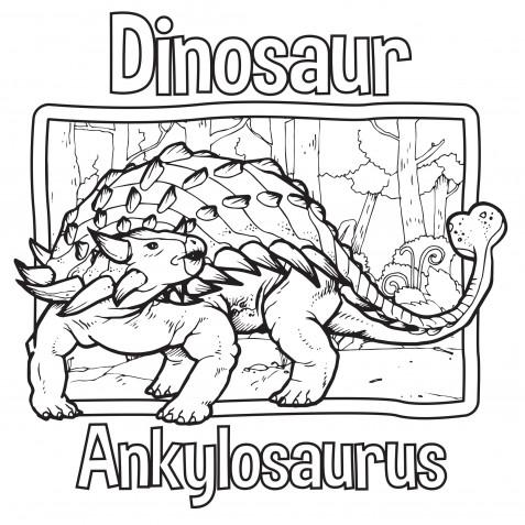 Dinosauri da colorare: 11 disegni gratis da non perdere