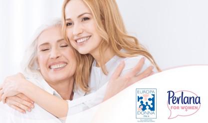prevenzione tumore al seno, Perlana, Perlana for women, Europa Donna Italia