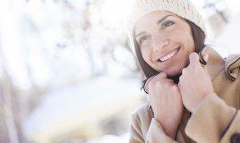 pelle stressata dai primi freddi