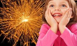 fuochi d'artificio capodanno bambini sicurezza