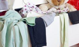 ordine casa letto camera contenitori ceste vestiti