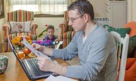 papà regole lavoro impegno casa famiglia bambini figli