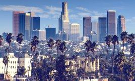 Los Angeles veduta grattacieli Stati Uniti