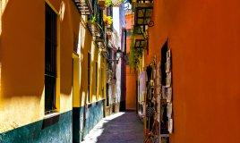 Siviglia Spagna via centro