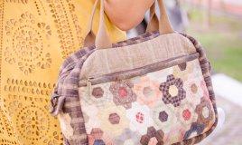 borsa patchwork decorazione