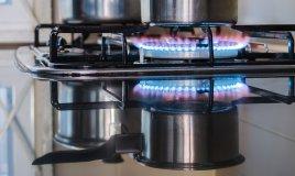 piano-cottura cucina fuochi piastra griglie acciaio cristallo-temperato