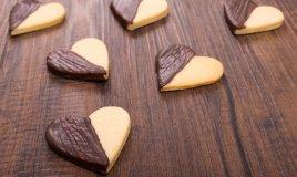 biscotti natale ricoperti cioccolato