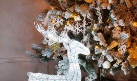natale albero luci decorazione