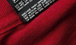 lavaggio etichetta tessuti delicati acqua temperatura