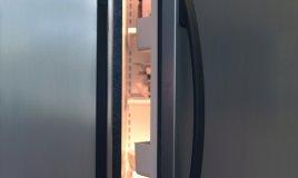 usura consumi frigorifero gomma plastica manutenzione guarnizioni