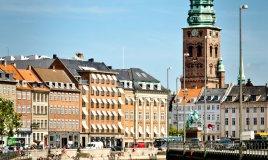 Copenhagen Danimarca centro cittadino città
