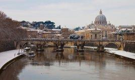 Roma capodanno inverno palazzi piazze chiese città natale