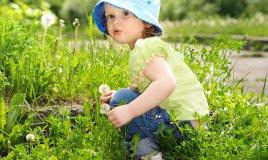 bambina allergica al polline