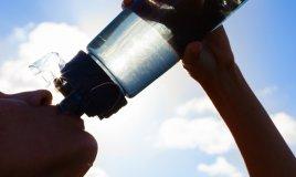 acqua minerale benessere salute