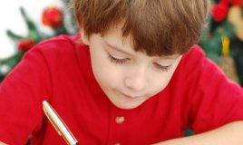 Letterina Babbo Natale regali bambini