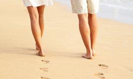 spiaggia camminate estate dimagrire
