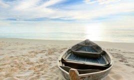 Nave, attraversare mari, navigare, zattera, motoscafo, remare, remi, vela