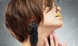 bellezza capelli taglio corto tendenze moda look romantico aggressivo punk donne donna