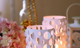 candele romantico arredo