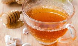 tè aglio miele dieta cibo