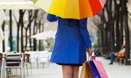 ombrello, pioggia, stile, tendenze