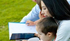vacanze, studio, tutta, la, famiglia lingue inglese francese tedesco bambini
