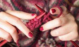 fare la maglia lana ferri lavorare knitting