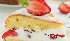pan di Spagna base torte dolci ricetta cucina