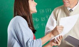 inseganti maestri colloquio scuola pagelle