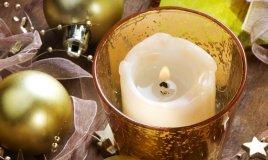 Crea portacandele dorati per Natale Riuso riciclo creativo