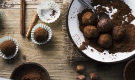 cioccolatini tartufi cioccolato castagne