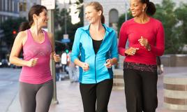 donne che corrono