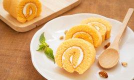 rotolo pan di spagna crema limone mascarpone latte limoncello