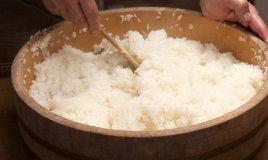 riso sushi base giappone