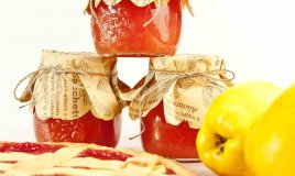 crostata di marmellata di mele cotogne