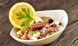insalata polpo olio extravergine oliva limone prezzemolo