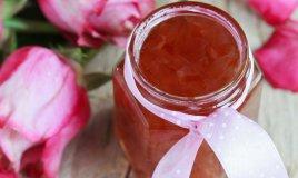 marmellata gelatina rose