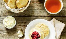 scottish scones panini burro marmellata