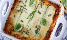zucchine al forno mozzarella pomodoro