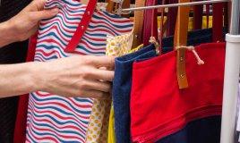 come sistemare le borse nell'armadio