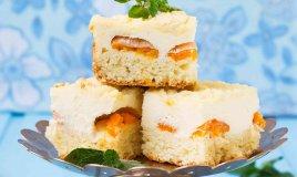 torta di pesche sciroppate