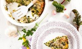 gratin bietole funghi forno formaggio vegetariano