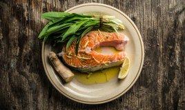 salmone marinato al lime e zenzero