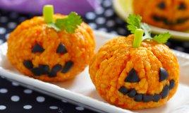 riso zucca halloween