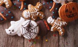 biscotti ragni halloween liquerizia cioccolato