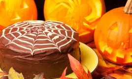 torta halloween zucca cioccolato