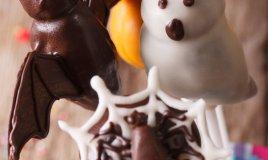 fantasmini di halloween dolcetti caramelle