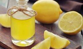olio essenziale di limone fatto in casa