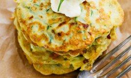pancakes frittelle zucchine